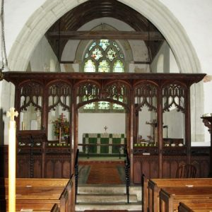 Arlington 19th century chancel screen