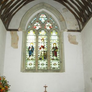 Arlington church east window