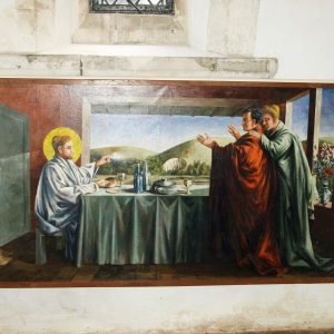 Berwick, the painting of 'The supper at Emmaus'