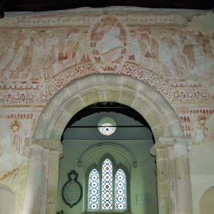 11th century chancel arch