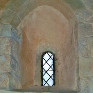 12th century Norman window