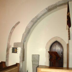 13th century half arch