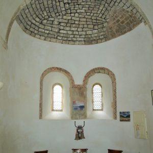 The apsidal chapel