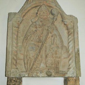 12th century bas-relief