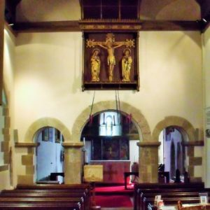 The view from nave to chancel