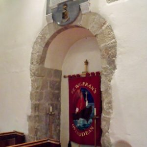 the original Norman doorway
