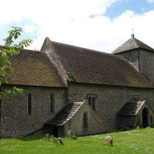 Pyecombe church