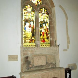 two light north chancel window