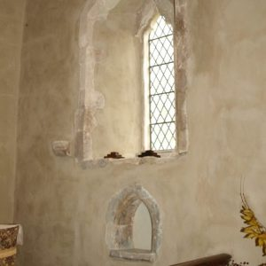 14th century south chancel window