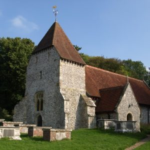 West Dean church