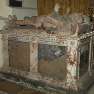Sir John Gage tomb chest