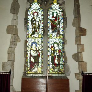 The north chapel north window
