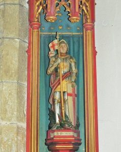 Statue of St george