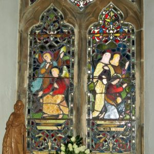 2 light window in south aisle