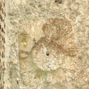 Original Saxon sundial