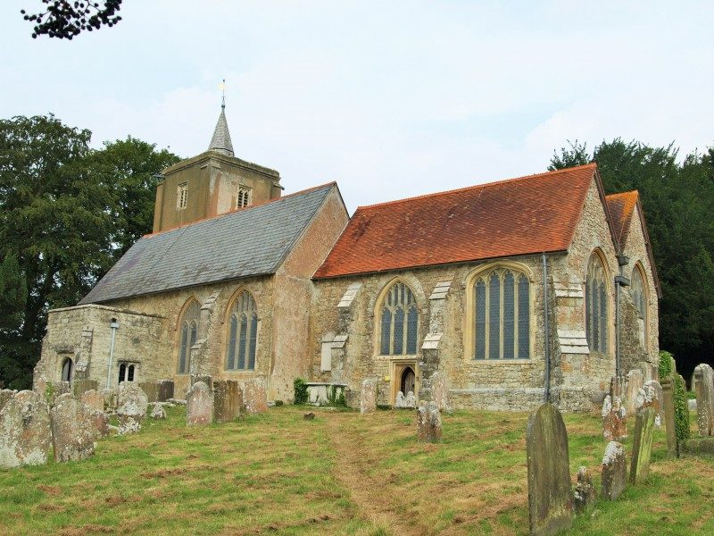 East Peckham church