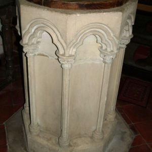 The tall Early English font