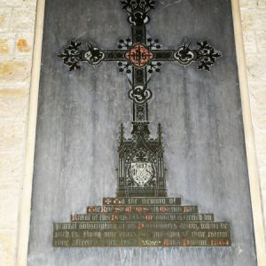 A memorial to the Rev. Smith-Marriott (Bart)