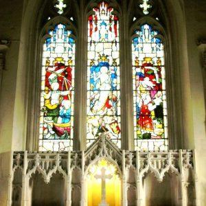 Early 15th century east window