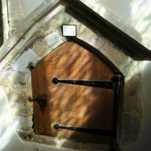 14th century aumbry