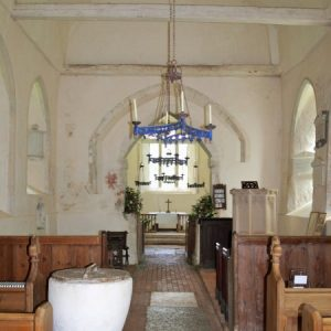 Chancel arches at St Michael's