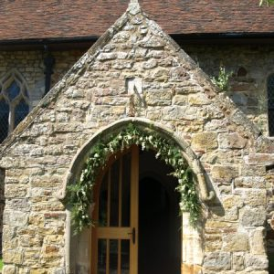 The south porch with sundial