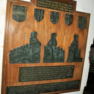 The Harlakenden brasses
