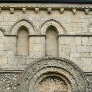 Norman window arcading