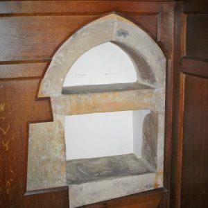 14th century piscina