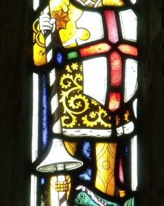12th century lancet window