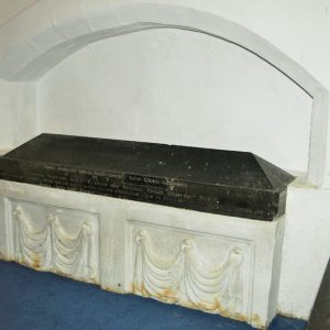 South chancel tomb recess