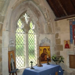 The Lady Chapel east window