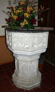 The 15th century octagonal font