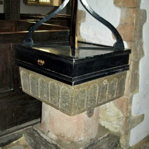 112th century square font