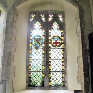 A 2 light window in the chancel