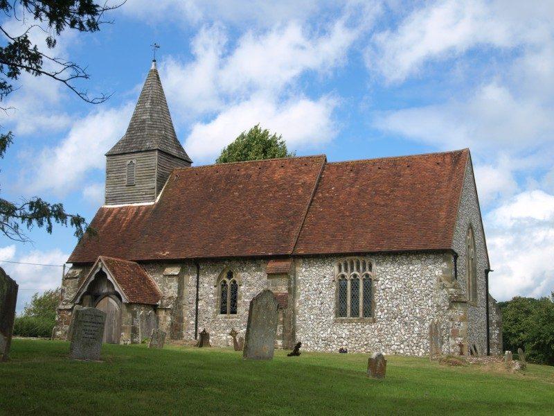 Heyshott church