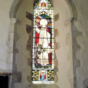 South chancel lancet window