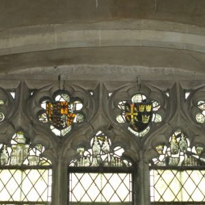 14th century glass in north chantry