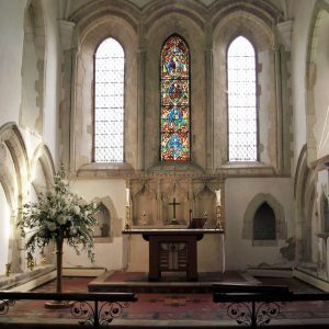 The 13th century chancel