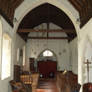 The nave from the chancel