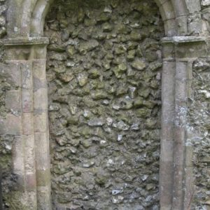 Blocked Norman doorway
