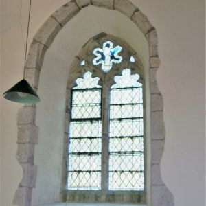 14th century nave window