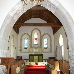 The 'weeping' chancel