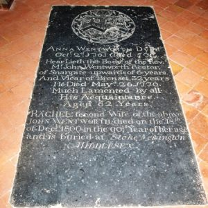 Wentworth grave slab