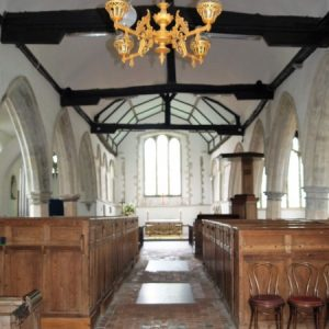 Brookland Church nave