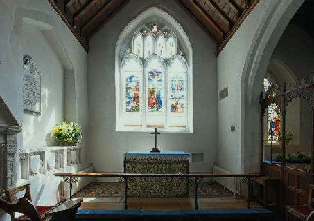 Chaldon church weald and downland churches for Chaldon church mural