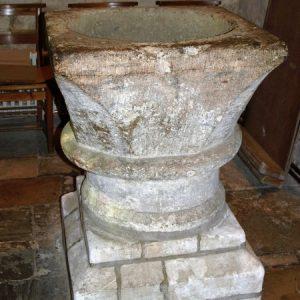 12th century font