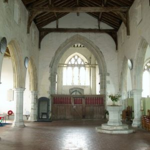 St George's nave and tower arch
