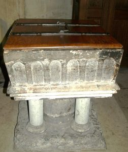 The square Norman font