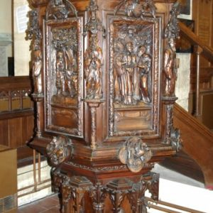 The Belgian pulpit